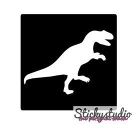 Glittertattoo: Dino 2