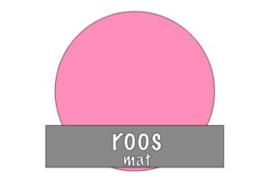 Stickervel 30 cm x 50 cm : Roos (mat)