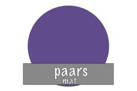 Vinyl: paars - mat