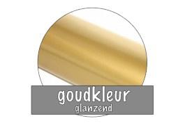 Stickervel 30 cm x 50 cm : Goudkleur (glanzend)