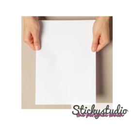 Stickerfolie - printbaar