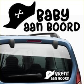Baby aan boord: Piratenhoed