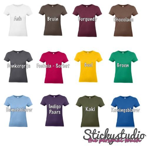 T-Shirt B&C #190 - Vrouwen
