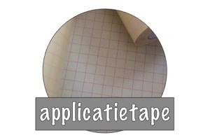 Vinyl: applicatietape