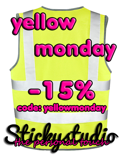 actie yellow monday