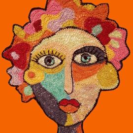 14 september - Masterclass abstract portret haken - José Dammers