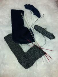 VOL! * 17 januari 2020 - Workshop Nostalgisch sokken breien (deel 1) - door Gerda