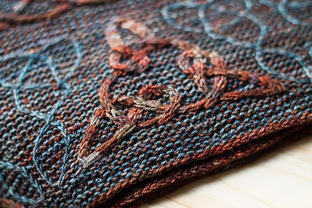 9 november - Workshop Keltisch kabelen volgens Lucy Hague - Naantje Knit
