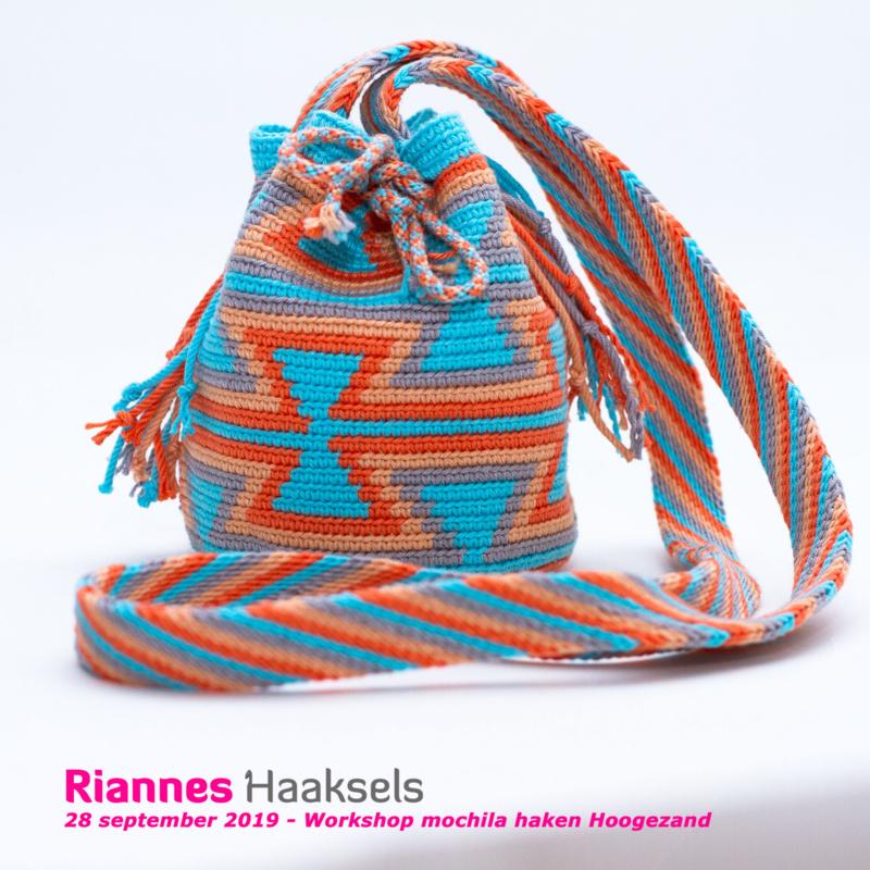 28 september - Workshop Mochila Haken - Rianne de Graaf