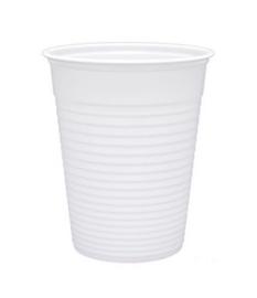 Drinkbeker plastic Wit 150 cc