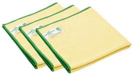 Microvezeldoek Geel Greenspeed 10 stuks