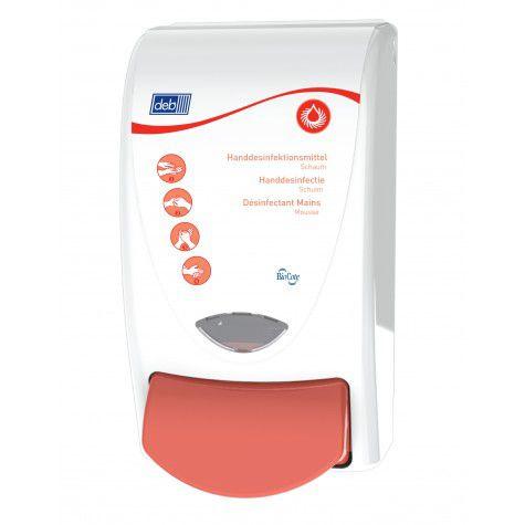 Deb sanitise 1000 dispenser   1 liter voor Medische Foam