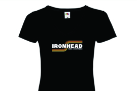 Ride Choppers Ironhead Ladies V-Neck