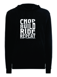 Ride Choppers Chop, Build, Ride Repeat Hoodie