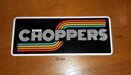 Ride Choppers Retro Sticker