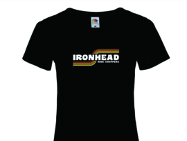 Ride Choppers Ironhead Ladies Round Neck