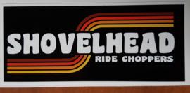 Shovelhead Sticker (12x5cm)