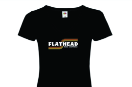 Ride Choppers Flathead Ladies V-Neck