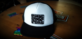 Ride Choppers Groovy Truckers Cap Black/White