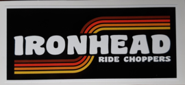 Ironhead Sticker (12x5cm)