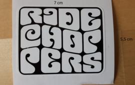 Sticker Groovy White