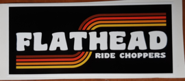 Flathead Sticker (12x5cm)