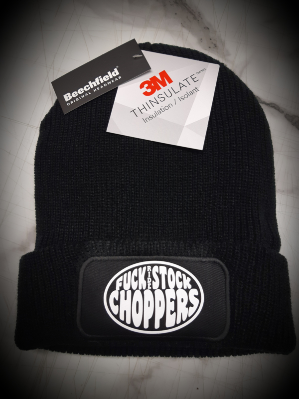 Fuckstock Thinsulate Patch Beanie