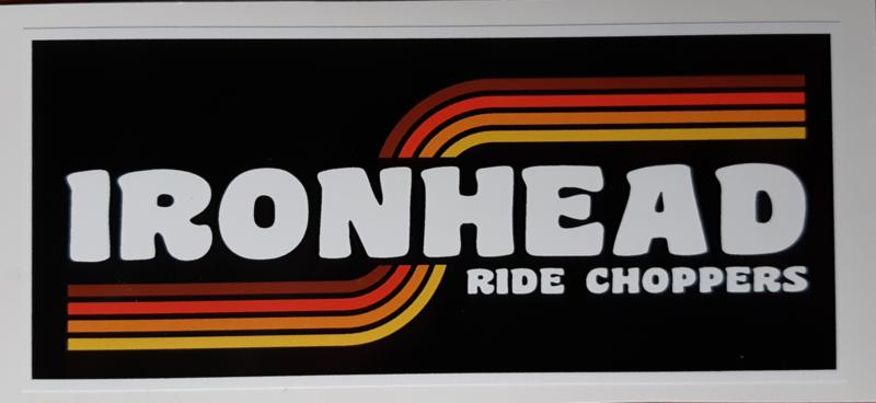 Ironhead Sticker (12x5cm)
