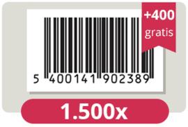 1.900 officieel erkende EAN Codes