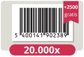 22.500 officieel erkende EAN Codes