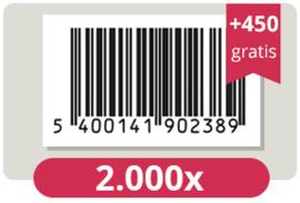 2.450 officieel erkende EAN Codes