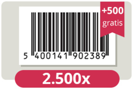 3.000 officieel erkende EAN Codes