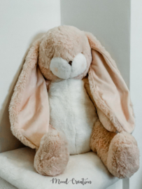 Bunnies By The Bay | knuffel Big Nibble Bunny Pink