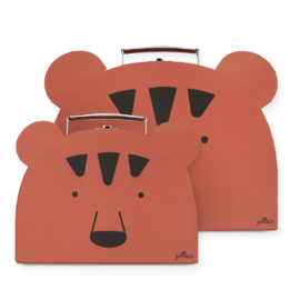 Jollein | Speelkoffertje Animal club rust (2pack)