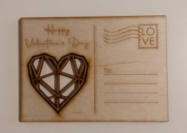 Valentijn postkaart