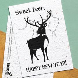 Bloom | Sweet Deer, Happy New Year