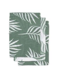 Jollein | Hydrofiel washandje Nature ash green (3pack)