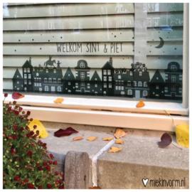 Raamstickers | Welkom Sint & Piet