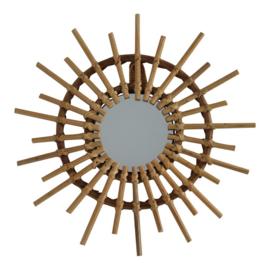 Housevitamin   Bamboe spiegel naturel 30 cm