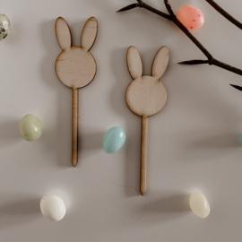 Paas prikkers   Bunny   Set van 2