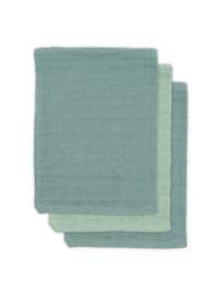 Jollein | Bamboe washandje Ash green (3pack)