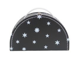 Koffertje sterretjes zwart