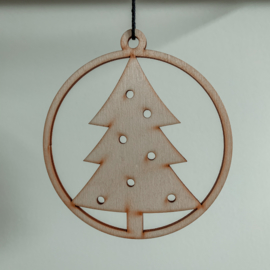 Kerstbal kerstboom