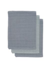 Jollein | Bamboe washandje storm grey (3pack)