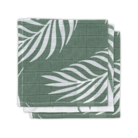 Jollein | Monddoekje hydrofiel Nature ash green (3pack)