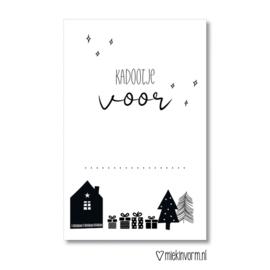 Mini kaart | kadootje voor