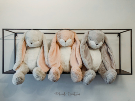 Bunnies By The Bay | knuffel Big Nibble Bunny Grey
