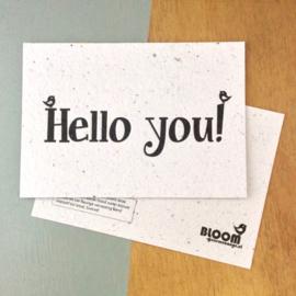 Bloom | Hello you!