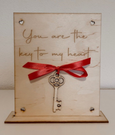 You are the key to my heart