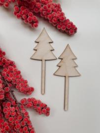 Kerst Prikkers | Kerstboom | Set van 2